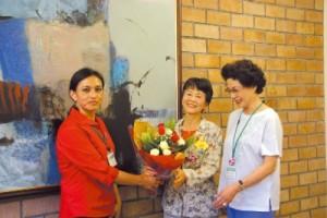 原水禁2007 リナ・カウアスキーさん、ビョン・ヨンオクさん